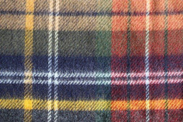flanelová tkanina