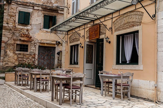 řecká ulička