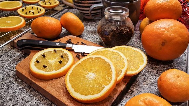 hřebíček a pomeranč