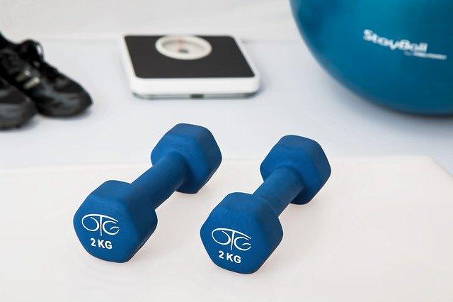 věci na cvičení