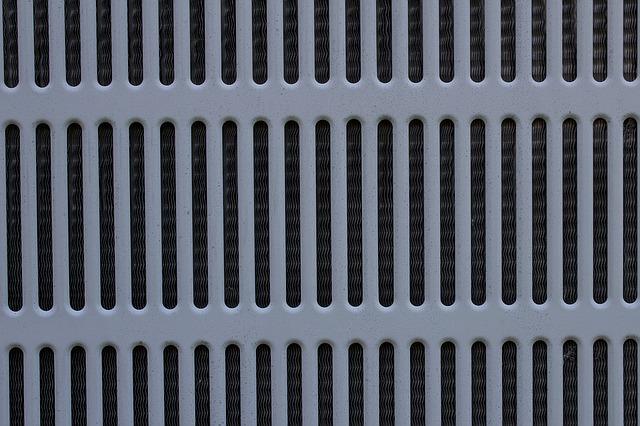 mřížka klimatizace